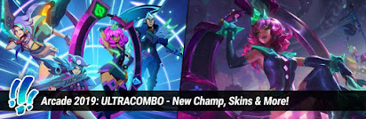 Surrender at 20: Arcade 2019: ULTRACOMBO - New Champ, Skins