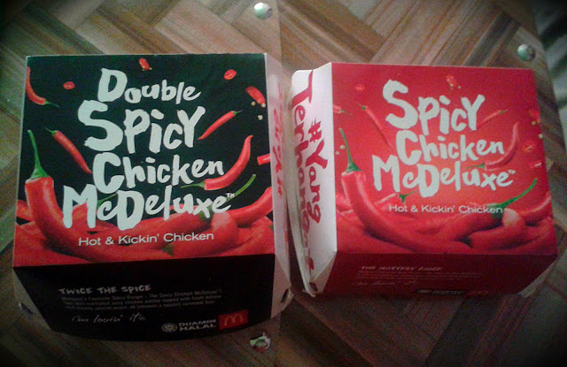 Burger Double Spicy Chicken McDeluxe Pedas Ke?