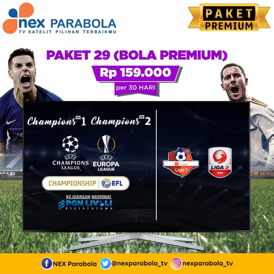 parabola yang menyiarkan liga 1 liga champions majalengka