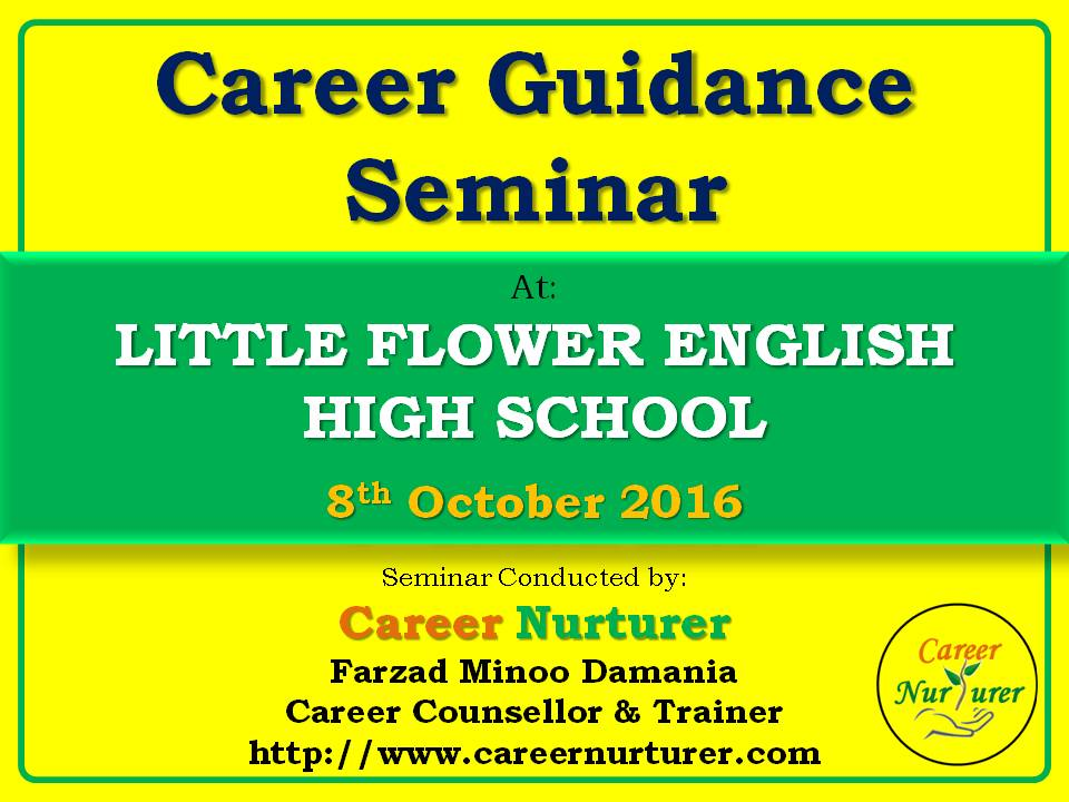 Career Counselling and Guidance Seminar at Little Flower English