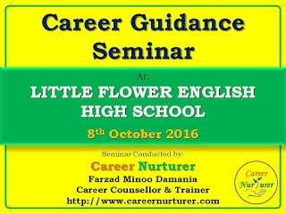 Career Guidance Counselling Seminar by Farzad Damania Career Counsellor in Mumbai