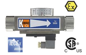 Kobold VKM Vicositiy Compensated Flowmeter/Switch