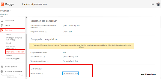 Cara Mengatasi Masalah File Ads.txt Google Adsense Terbaru 2020