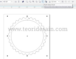 Cara Membuat Logo Retro Vintage Blurred Menggunakan CorelDRAW4