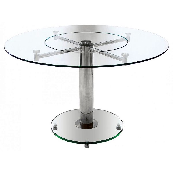 ikea round glass dining table