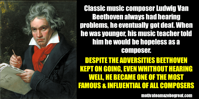 Success Stories From Famous People Who Failed Before Succeeding: Ludwig Van Beethoven