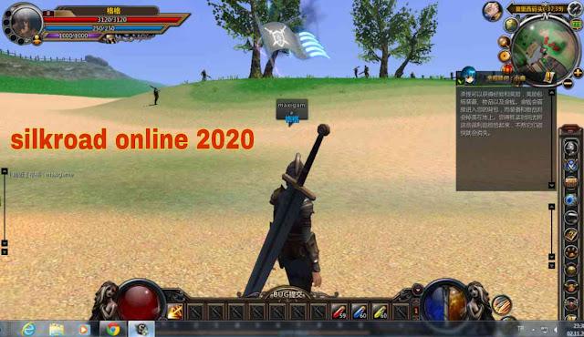 سيلك رود اون لاين 2020 Silkroad Online | لعبة حرب طريق الحرير ( apk-obb )
