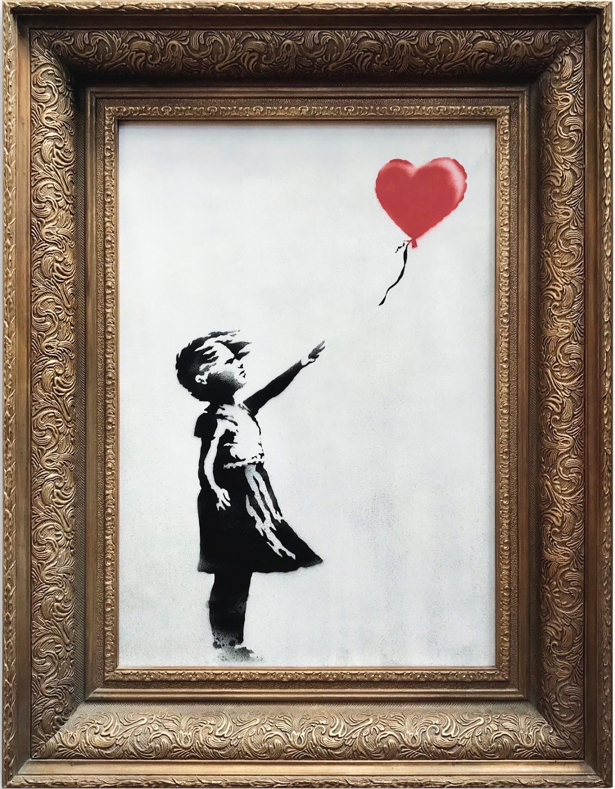La Petite Fille Au Ballon Analyse : petite, fille, ballon, analyse, Voir:, N°232, Fille, Ballon, (L'amour, Poubelle), (2006)Banksy