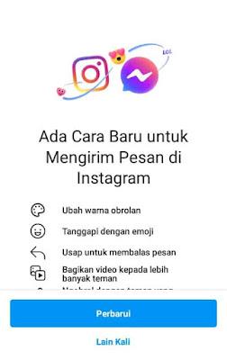 update instagram terbaru