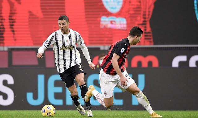 ملخص مباراة يوفنتوس وميلان (3-1) اليوم في الدوري الايطالي