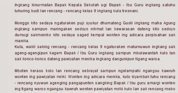 Kumpulan Contoh Puisi Bahasa Jawa Tentang Ayah - Contoh ...