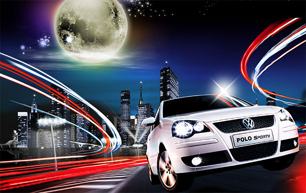 night car ride in india