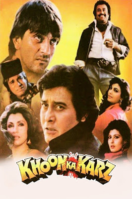 Khoon Ka Karz (1991) Hindi 720p | 480p HDRip x264 1Gb | 400Mb