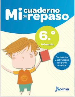 cuaderno de vacaciones 6º primaria