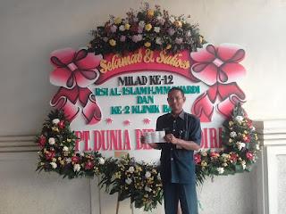 bunga papan selamat dan sukses molad ke 12 RSI al islam