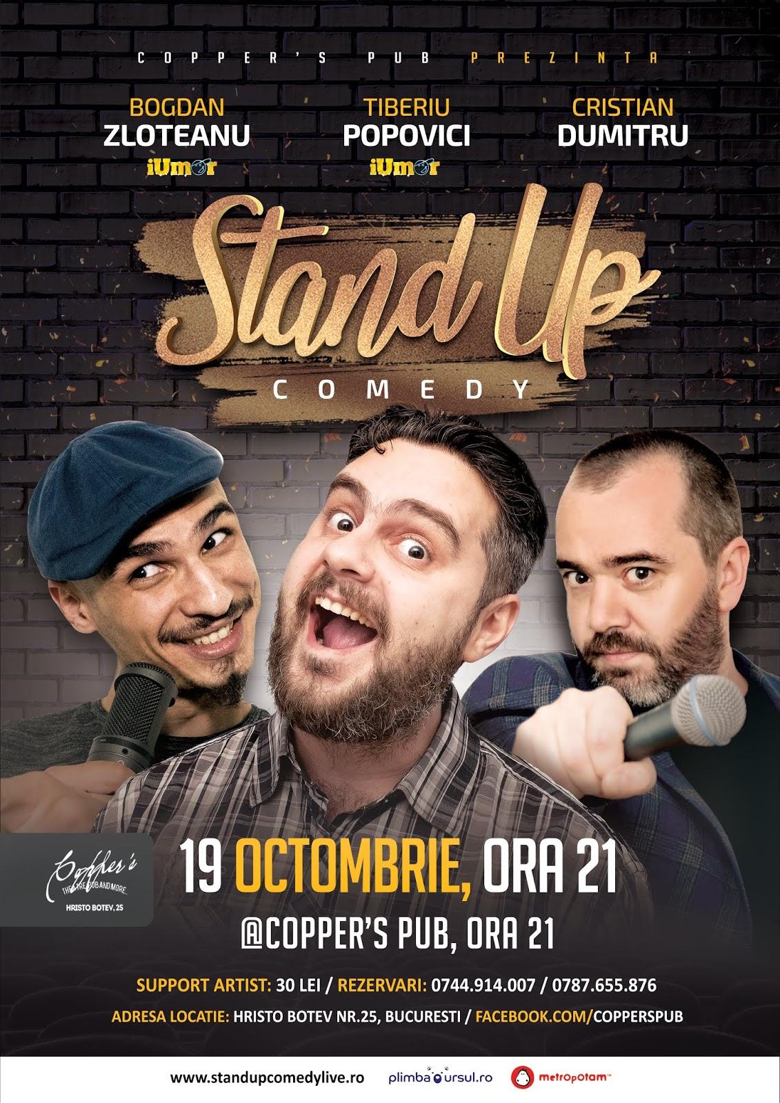 Specacol Stand-up Comedy Bucuresti