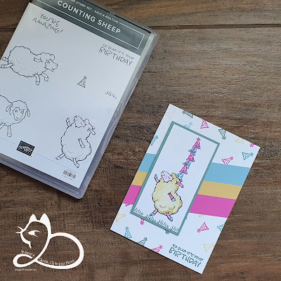 Stampin'Up!®, Diana's cards Cats and More, Gorinchem, Kaarten Maken, Stempelen, Counting Sheep, Gratis