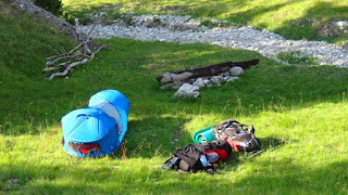 Mountain Camping with Mammut Bivy Tent