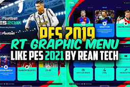 RT Graphic Menu 2021 For - PES 2019