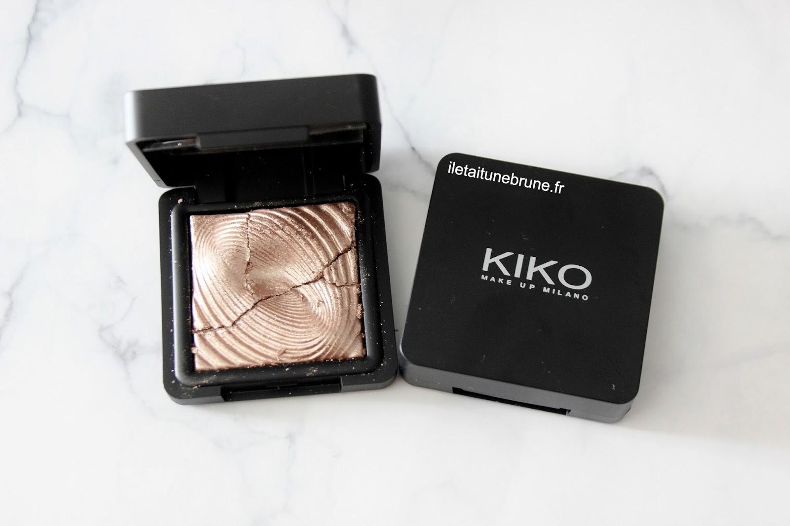 ombre à paupière water eyeshadow champagne kiko