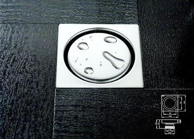 saringan pembuangan untuk kamar mandi atau floor drain