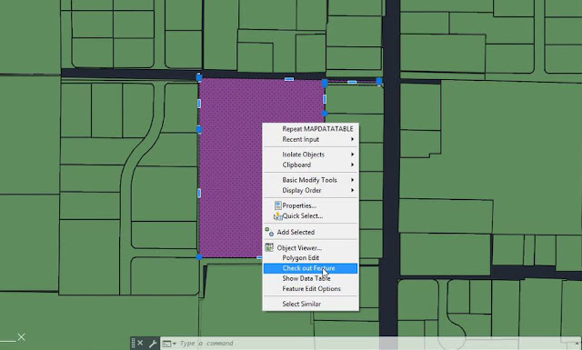 Turn map object into parcel in Civil 3D