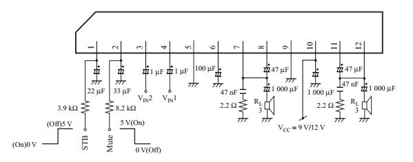 Diagram Of A 150 Watt Power Amplifier Circuit