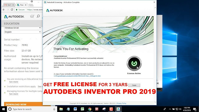 free Download Autodesk Inventor 2019