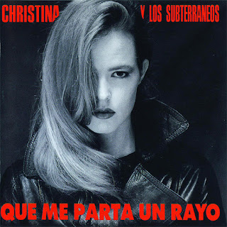 Cristina y los Subterráneos. Que me parta un rayo
