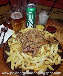 Saint Patrick´s Day, Pub Irlandés chorrillana clasica