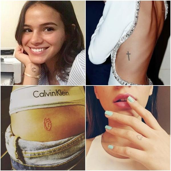 tatuagens delicadas e femininas