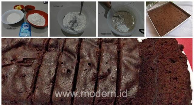 Resep Cheese Cake Kukus Ekonomis: Resep Brownies Kukus Yang Ekonomis, Cukup 15 Ribu Mudah
