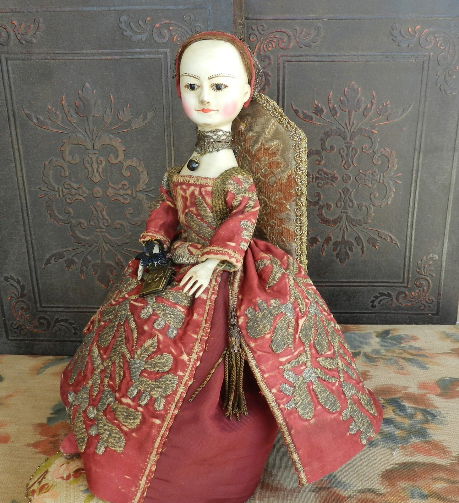 The Old Wooden Sisters Queen Anne Doll Available For Sale
