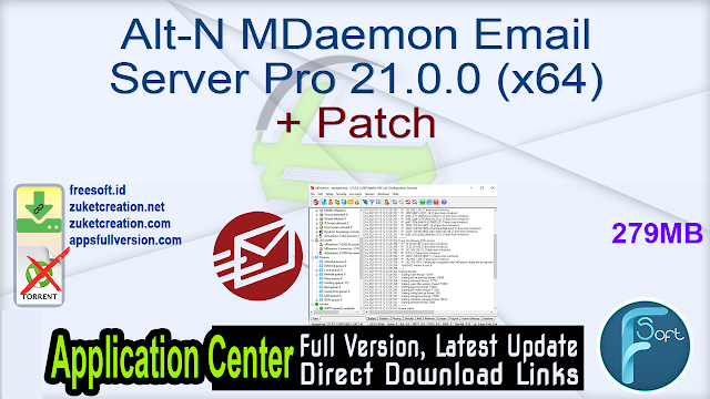 Alt-N MDaemon Email Server Pro 21.0.0 (x64) + Patch