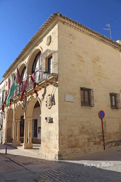 Balcón del Concejo, paseo de la Constitución de Baeza