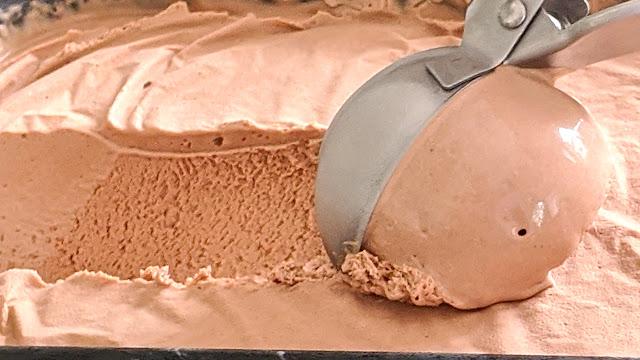 recette, glace, maison, chocolat, sans sorbetières, 3 ingrédients, crème glacée