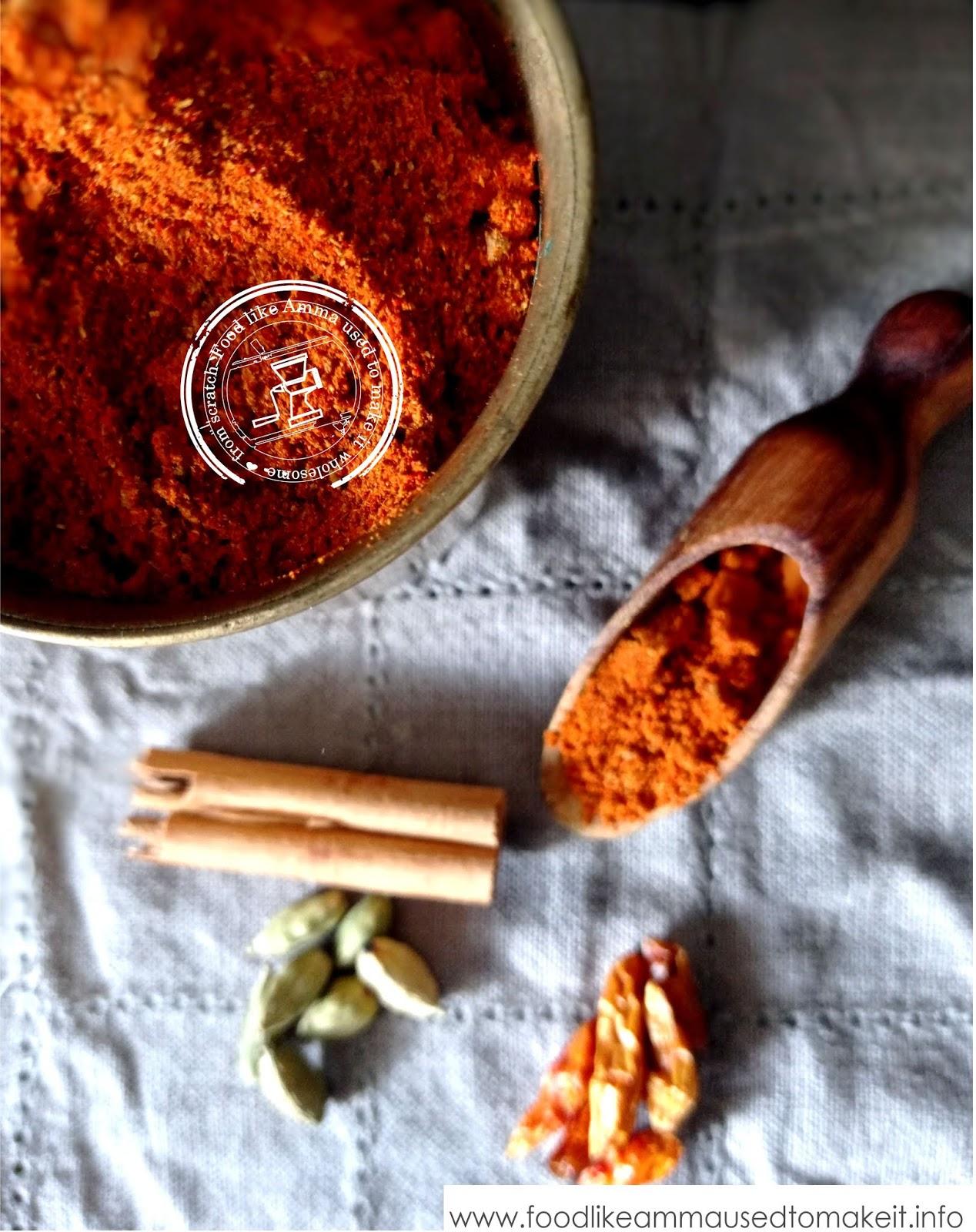 recipe for durban masala