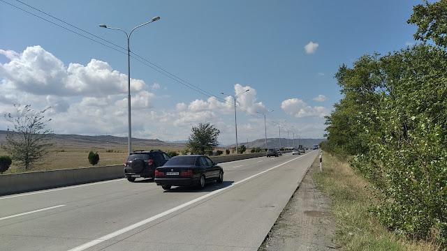 дорога Тбилиси - Батуми
