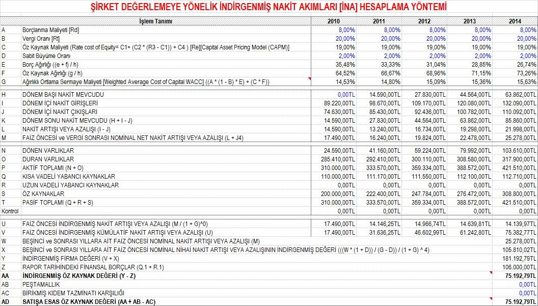 Microsoft Office Excel ® Kod Kılavuzu: Şirket Değerlemeye