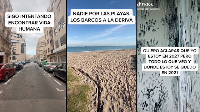 Risvegliatosi nel 2027 in una Valencia senza vita