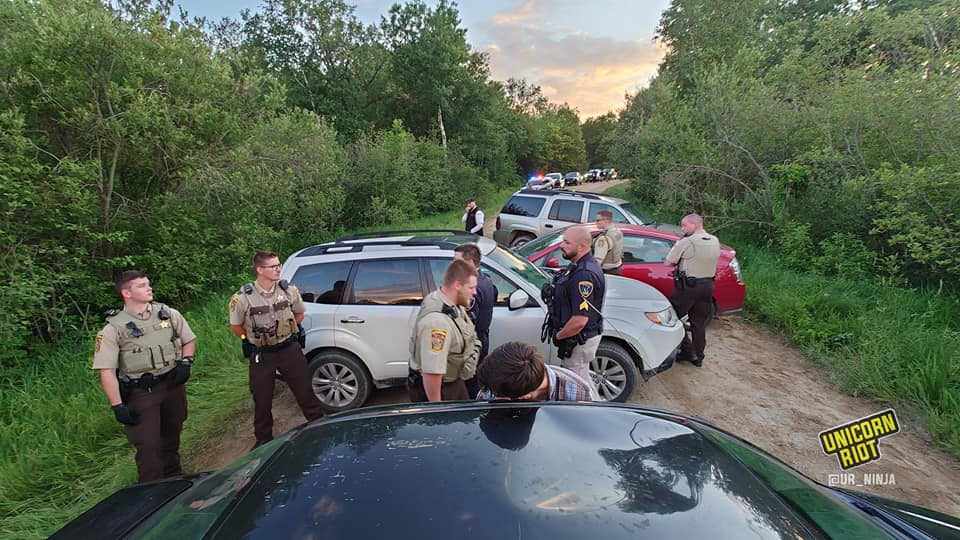 Sheriffs protecting big oil interests