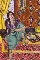 Matisse, Odalisque à l'échiquier