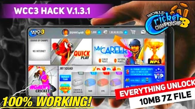 Wcc3 new apk 1.3.1