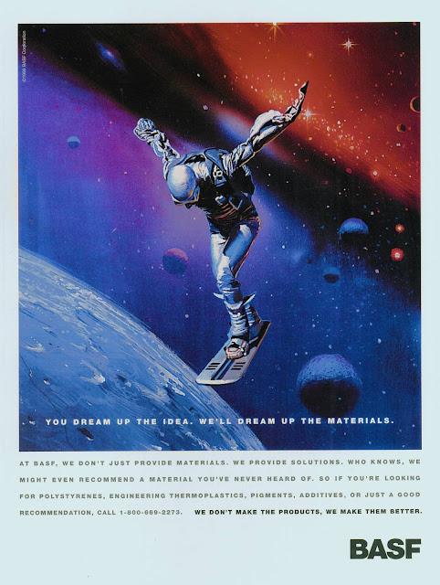 1995 BASF Print Advertisement