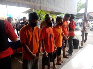 Polsek Teluknaga Tangkap Empat Pelaku Spesialis Curanmor di Tangerang, Foto Istimewa Korantangsel.com
