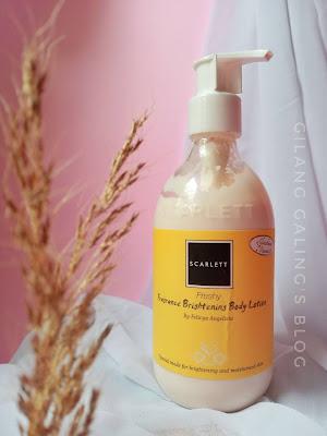 Scarlett Fragrance Brightening Body Lotion Freshy yang Wanginya Mewah