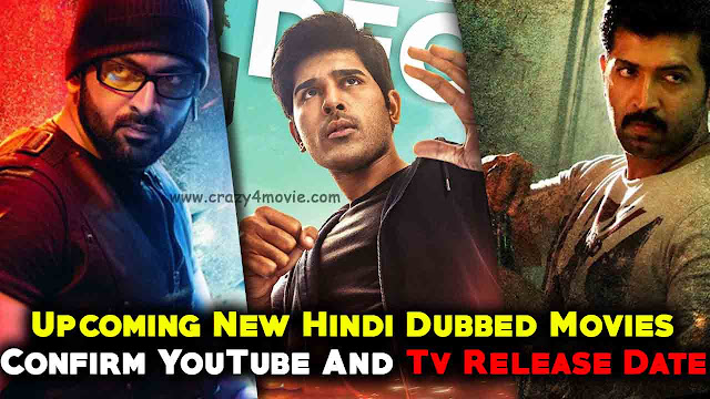 Upcoming Hindi Dubbed movies