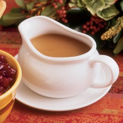 Old-fashioned Pan Gravy With Red Currant Jelly Recipe