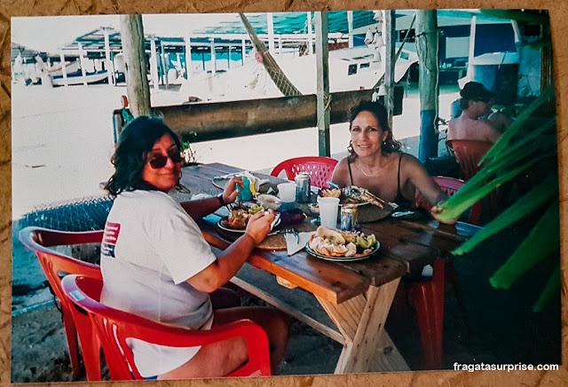 Comer em Los Roques, Venezuela