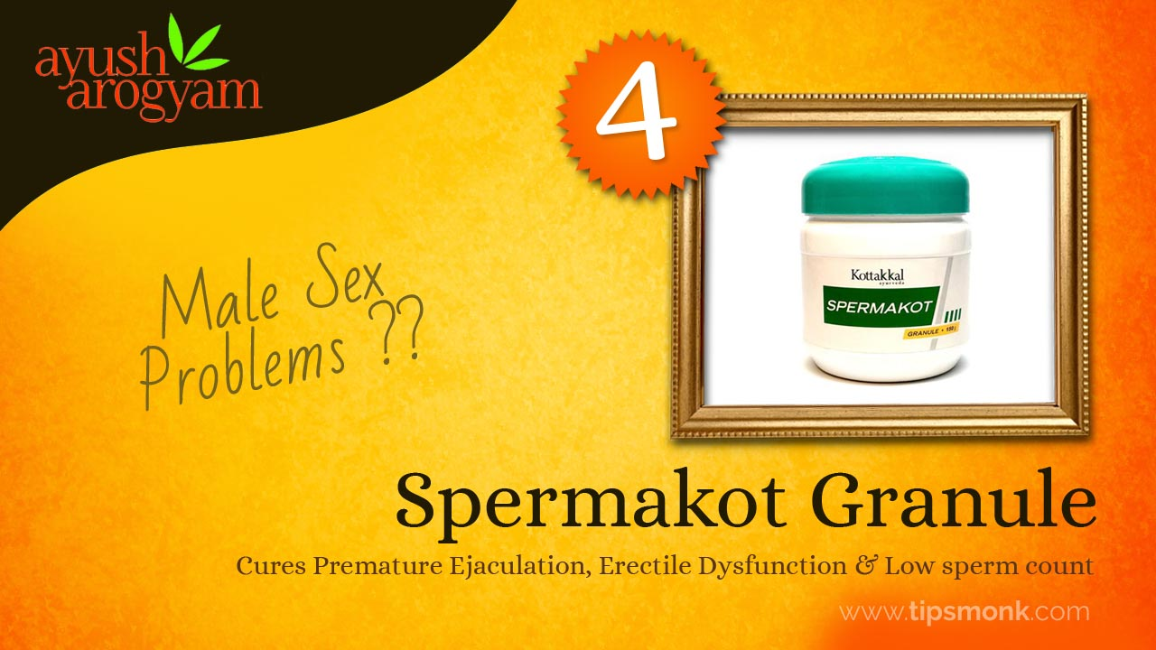 5 Best  Ayurvedic products available only at Ayush Arogyam - Spermakot Granule